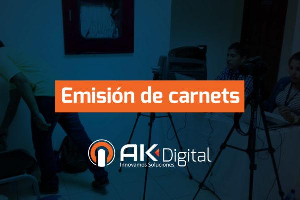 Emisión de Carnets en Managua