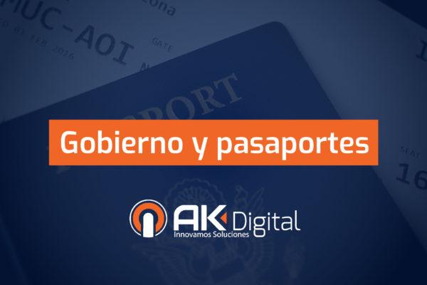 Gobiernos y pasaportes electrónicos