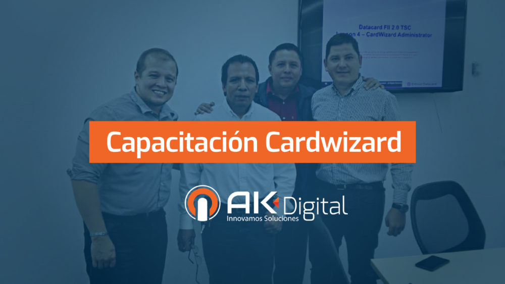 Capacitación en Datacard Cardwizard