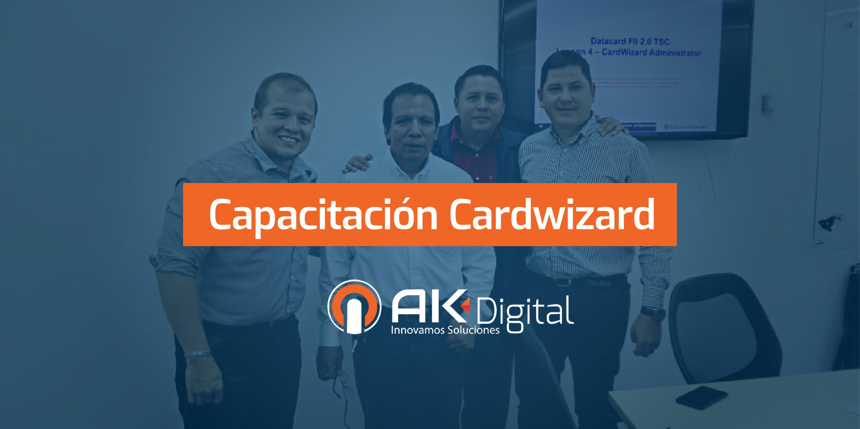 Equipo técnico adquiere certificación para software Datacard Cardwizard