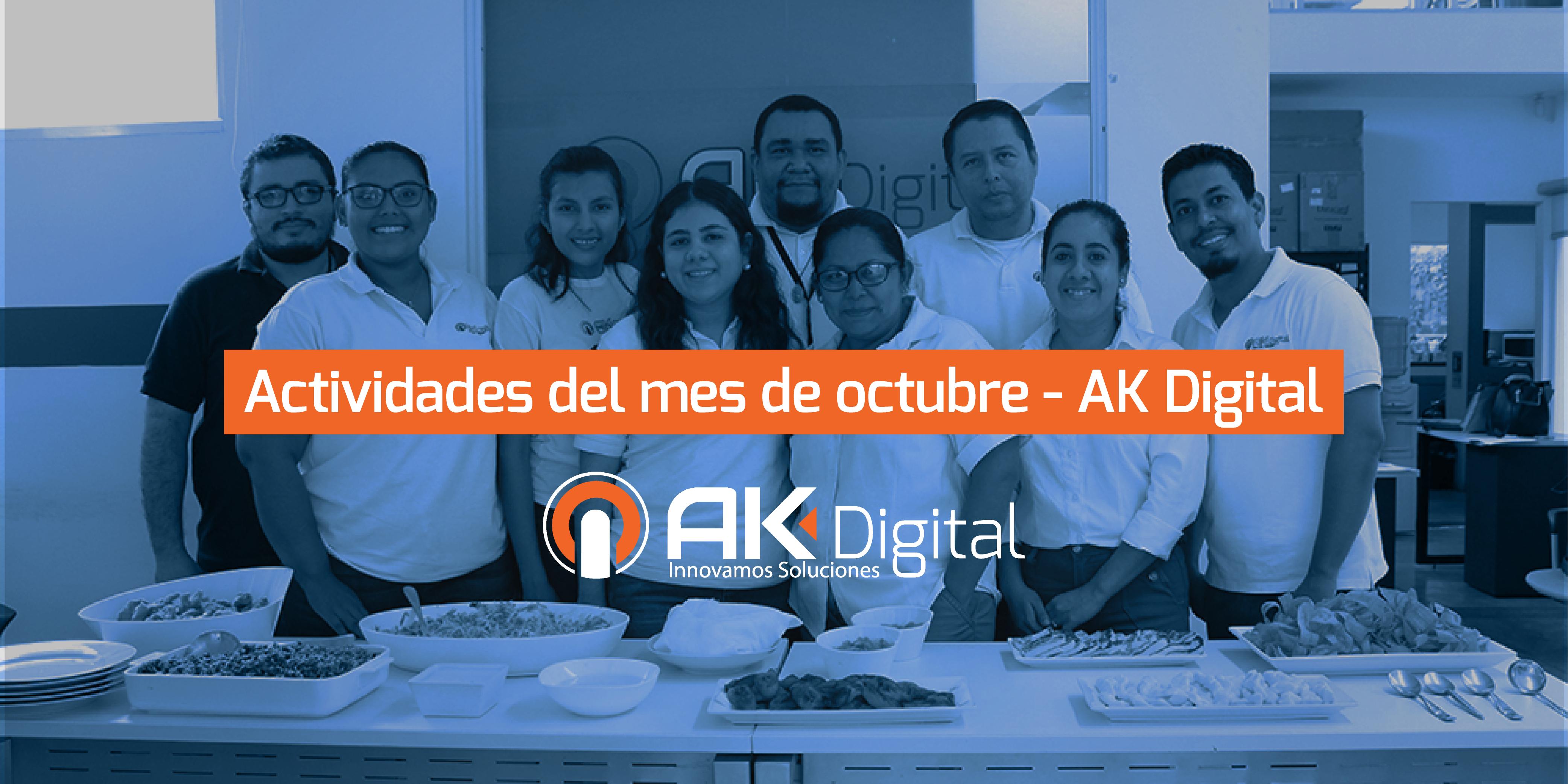 Actividades del mes de Octubre – AK Digital