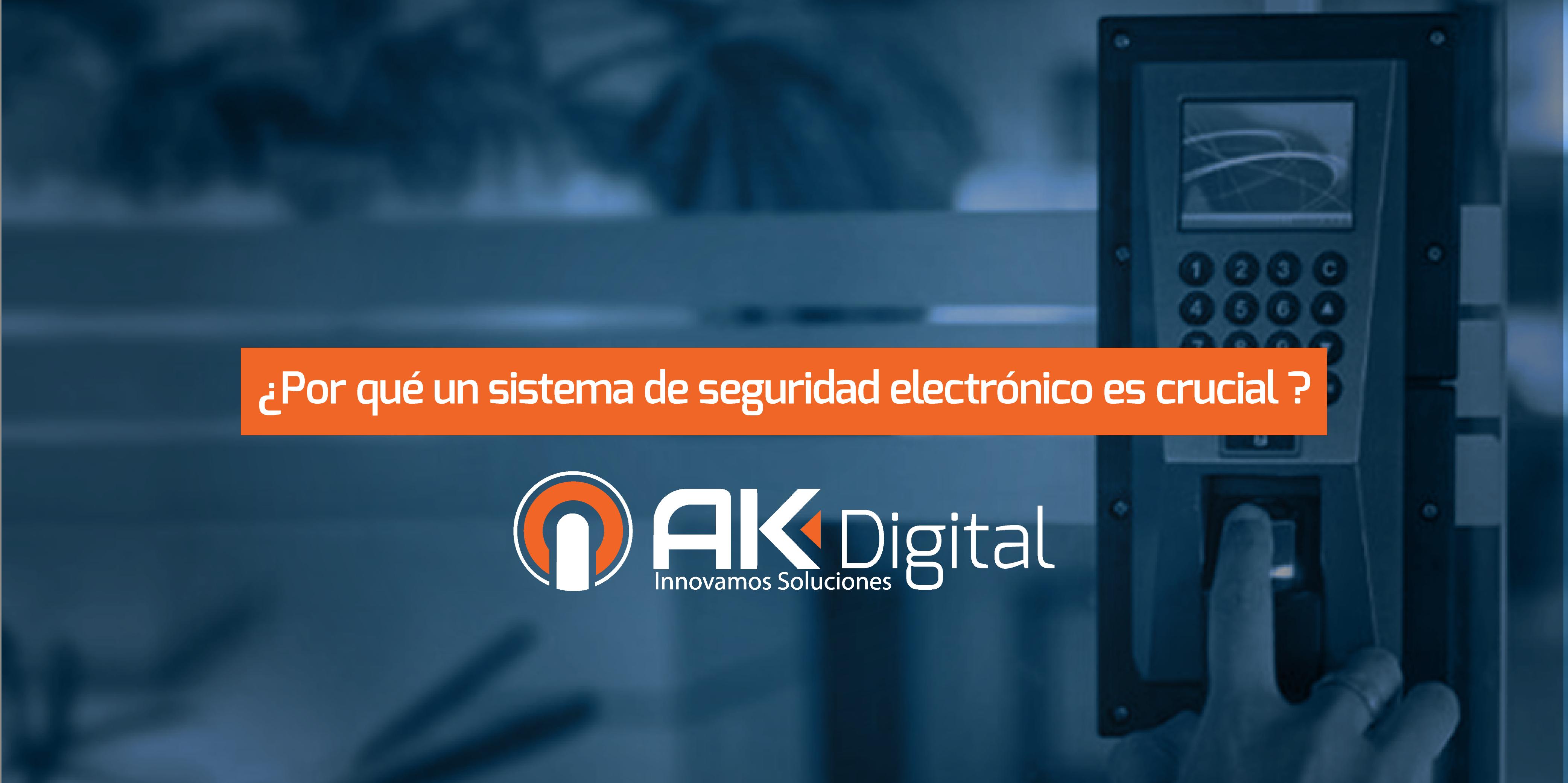¿Por qué un sistema de seguridad electrónica es crucial para las empresas o negocios?